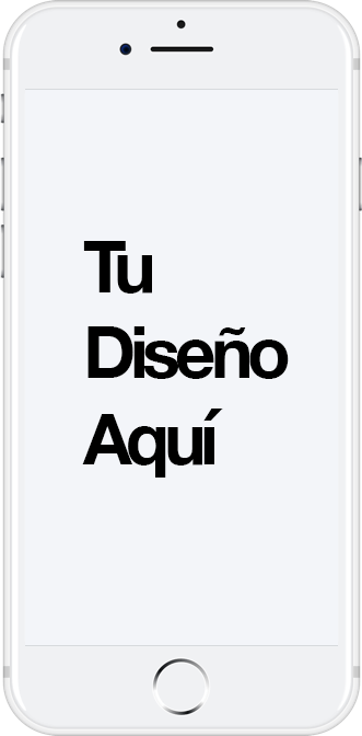 iPhone mockup para diseño web